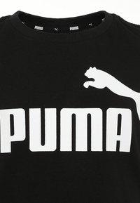 Puma - ESS LOGO TEE - Triko spotiskem - black - 2