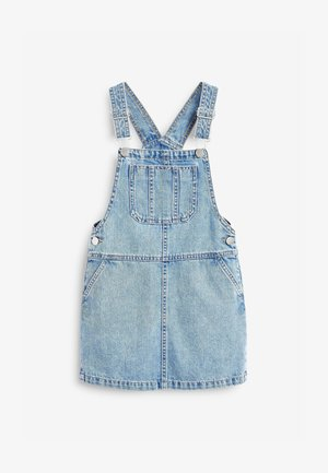 PINAFORE - Denim dress - light blue