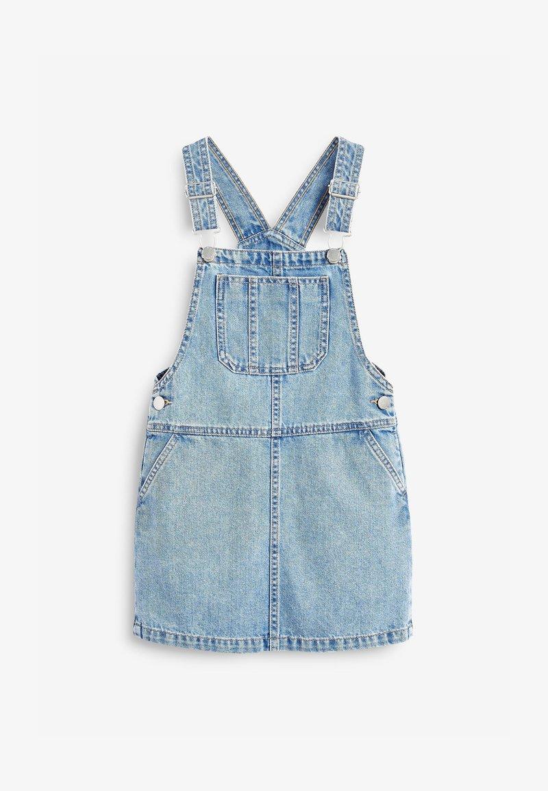 Next - PINAFORE - Denim dress - light blue