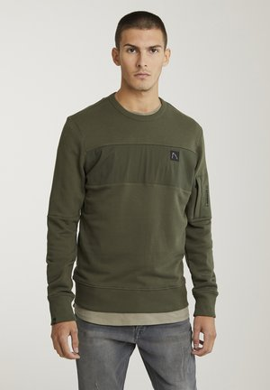 LOW - Long sleeved top - green