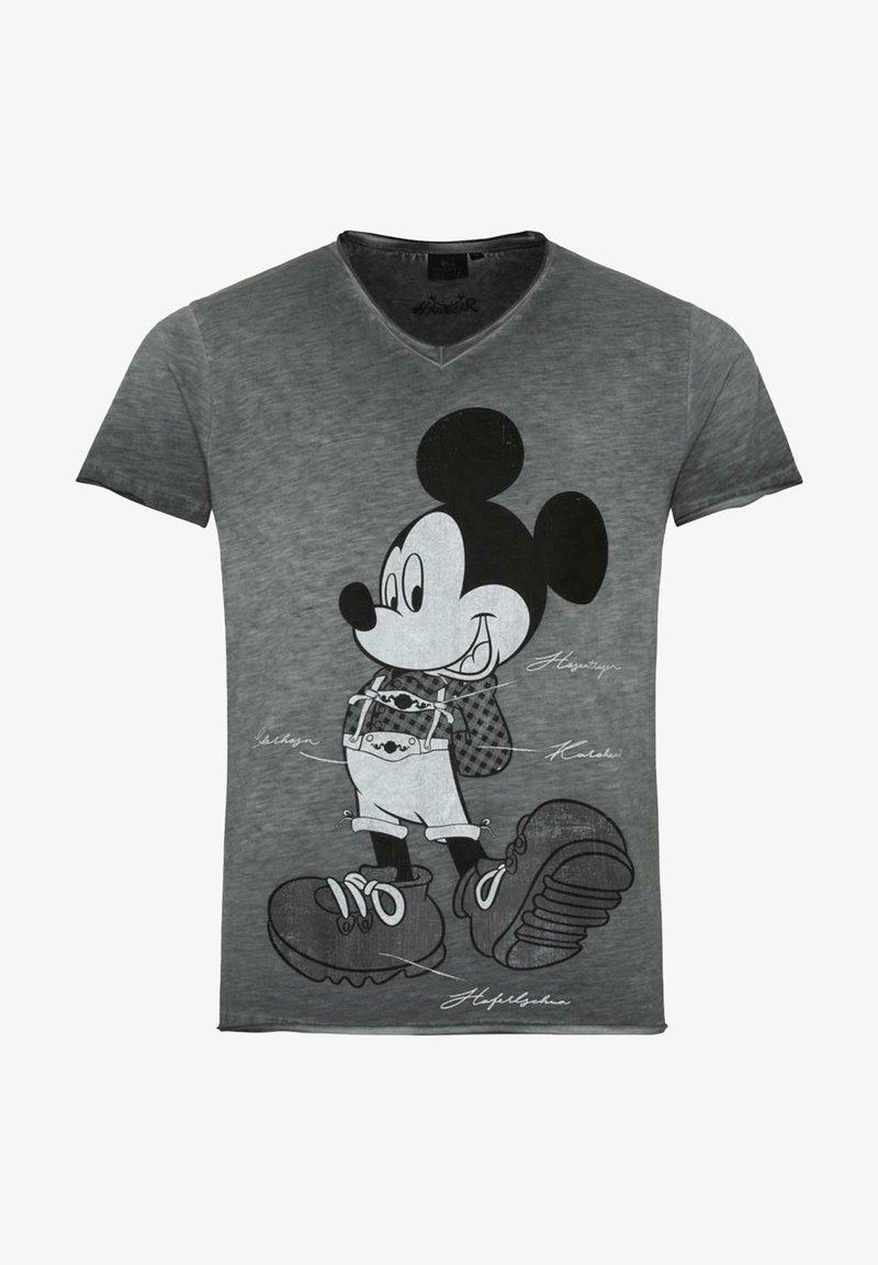 HANGOWEAR - Print T-shirt - anthrazit