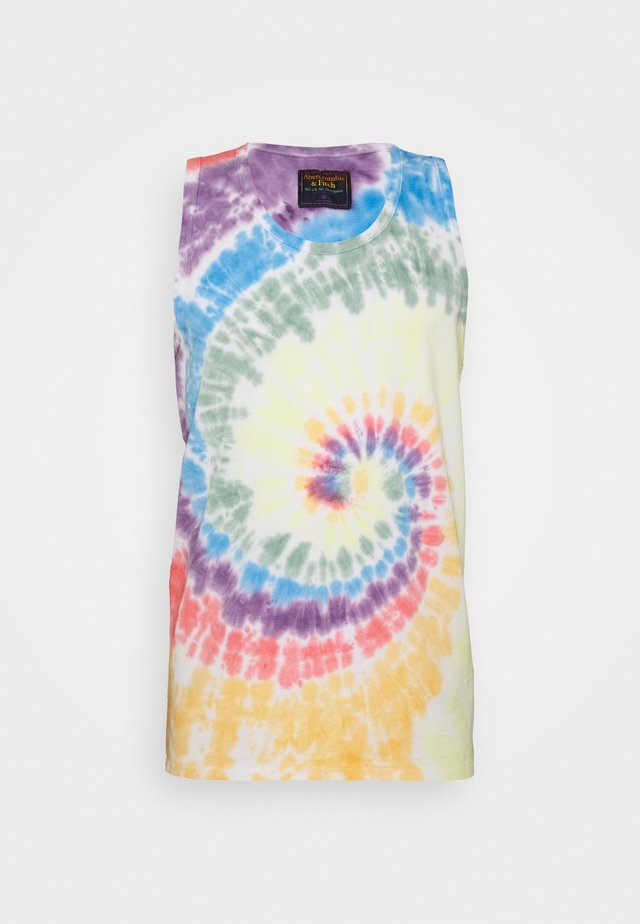 PRIDE WASH TANK  - Top - multi-coloured