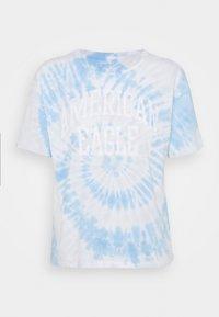 American Eagle - TIE DYE BRANDED  - Print T-shirt - blue - 3