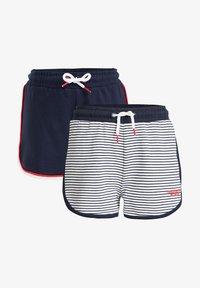 WE Fashion - 2 PACK - Shorts - dark blue - 4