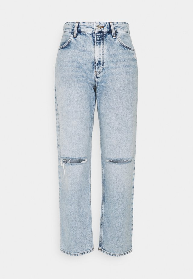 BERLIN - Jean boyfriend - ripped blue denim