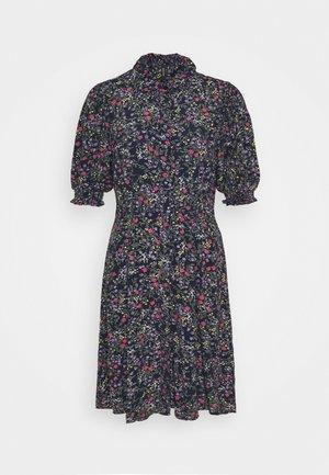 VMLISSY SHORT DRESS - Skjortekjole - navy blazer