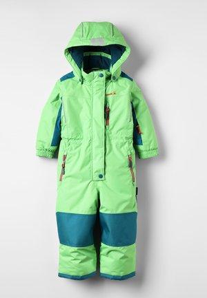 LAZER - Snowsuit - lime/citron vert