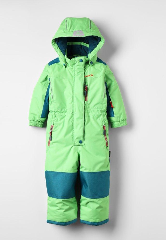 LAZER - Combinaison de ski - lime/citron vert
