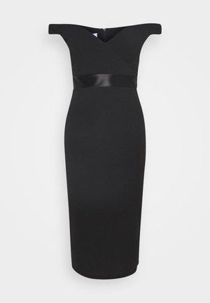 RYLIE BAND MIDI DRESS - Sukienka koktajlowa - black