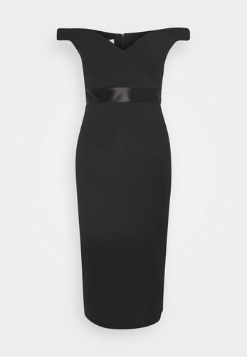 RYLIE BAND MIDI DRESS - Koktejlové šaty/ šaty na párty - black