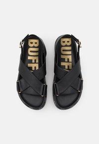Buffalo - VEGAN ROMY - Platform sandals - black - 5