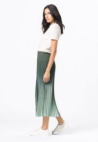 HALLHUBER - A-line skirt - seegrün - 1