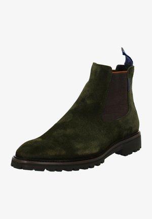 Classic ankle boots - dunkel grün