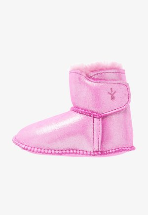First shoes - hot pink