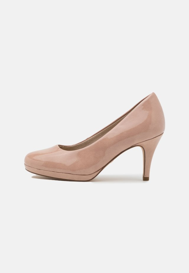 COURT SHOE - Decolleté - old rose