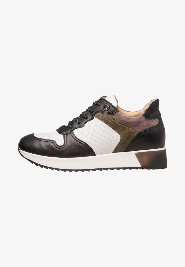 Sneakers laag - bunt