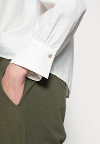 Cream - VICKY - Button-down blouse - snow white - 4