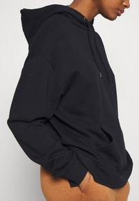 Even&Odd - BASIC - Oversize Hoodie - Huppari - black - 5