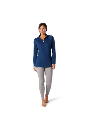 LIGHTWEIGHT 150 BASELAYER 1/4 ZIP - Sweatshirt - indigo blue