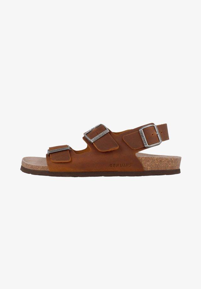 CONGO - Sandals - braun