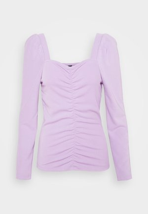 YASLANA - Long sleeved top - lavendula