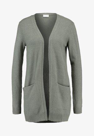 VIRIL OPEN CARDIGAN - Cardigan - castor gray melange