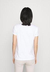 Patrizia Pepe - Print T-shirt - white - 2