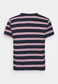 Tommy Jeans - REGULAR CONTRAST BABY TEE - Print T-shirt - twilight navy - 7