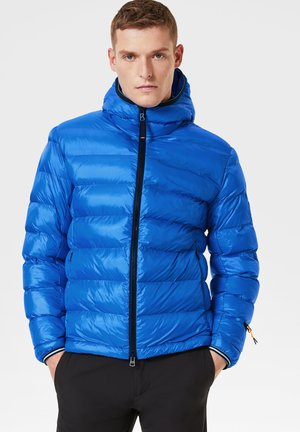 Winter jacket - azur-blau