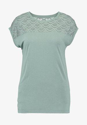 ONLNICOLE MIX - T-shirts basic - chinois green