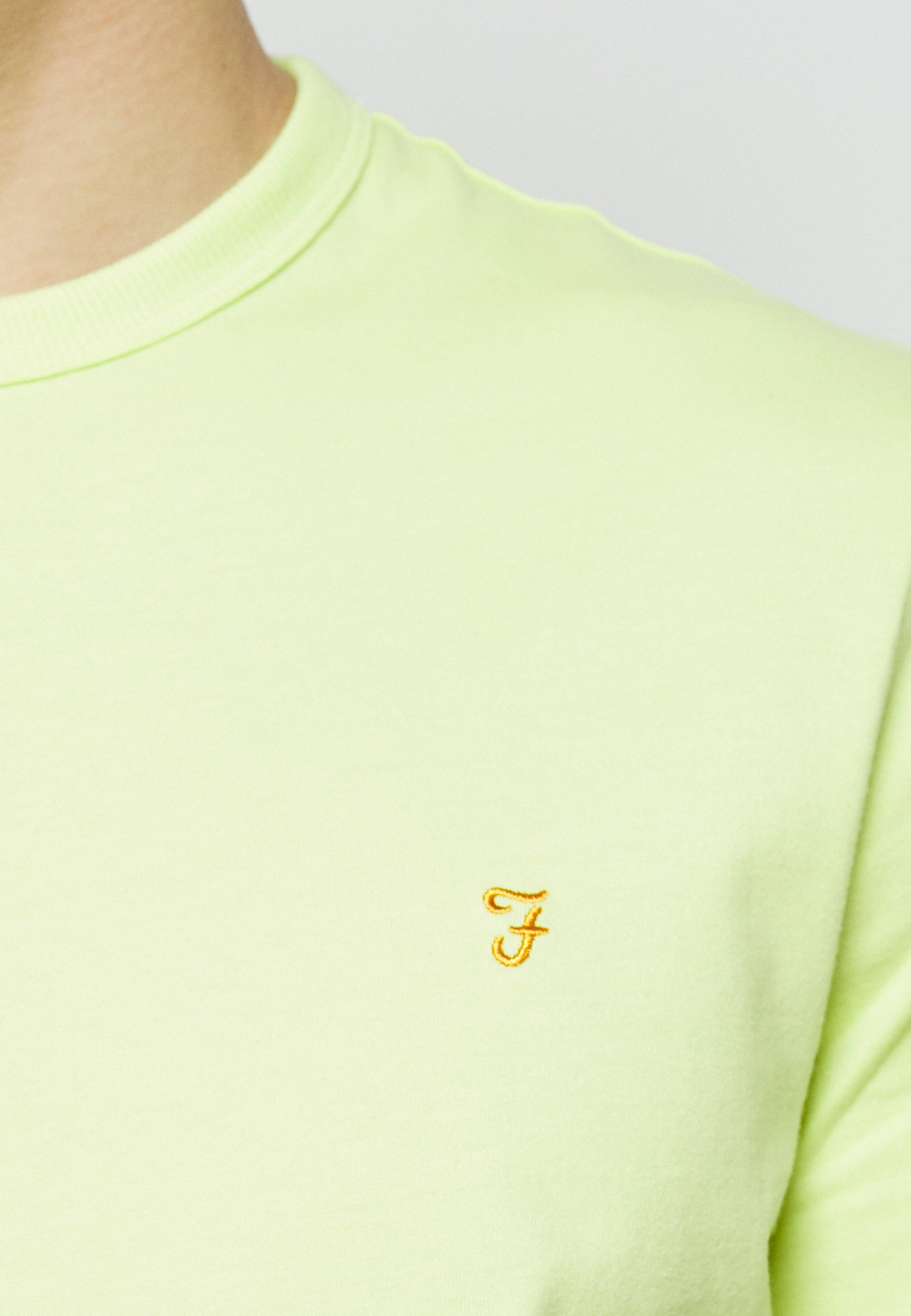 Farah DENNIS SOLID TEE - Print T-shirt - acid green UPCkn