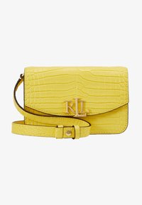 Lauren Ralph Lauren - MINI CROC EMBOSS MADISON  - Riñonera - lemon sorbet - 6