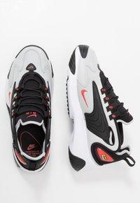 Nike Sportswear - ZOOM  - Sneakers - black/track red/grey/fogwhite - 1