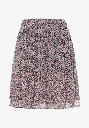 A-line skirt - magenta rouge