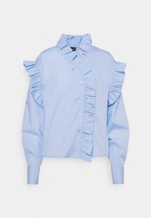 DINAH FRILL BLOUSE - Skjorte - blue bell