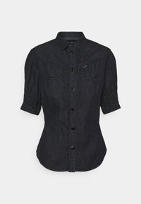 G-Star - SMOCK WESTERN KICK BACK SHIRT - Button-down blouse - rinsed - 0