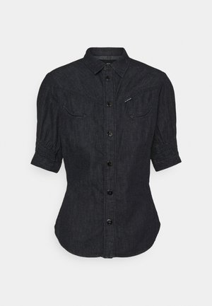 SMOCK WESTERN KICK BACK SHIRT - Button-down blouse - rinsed
