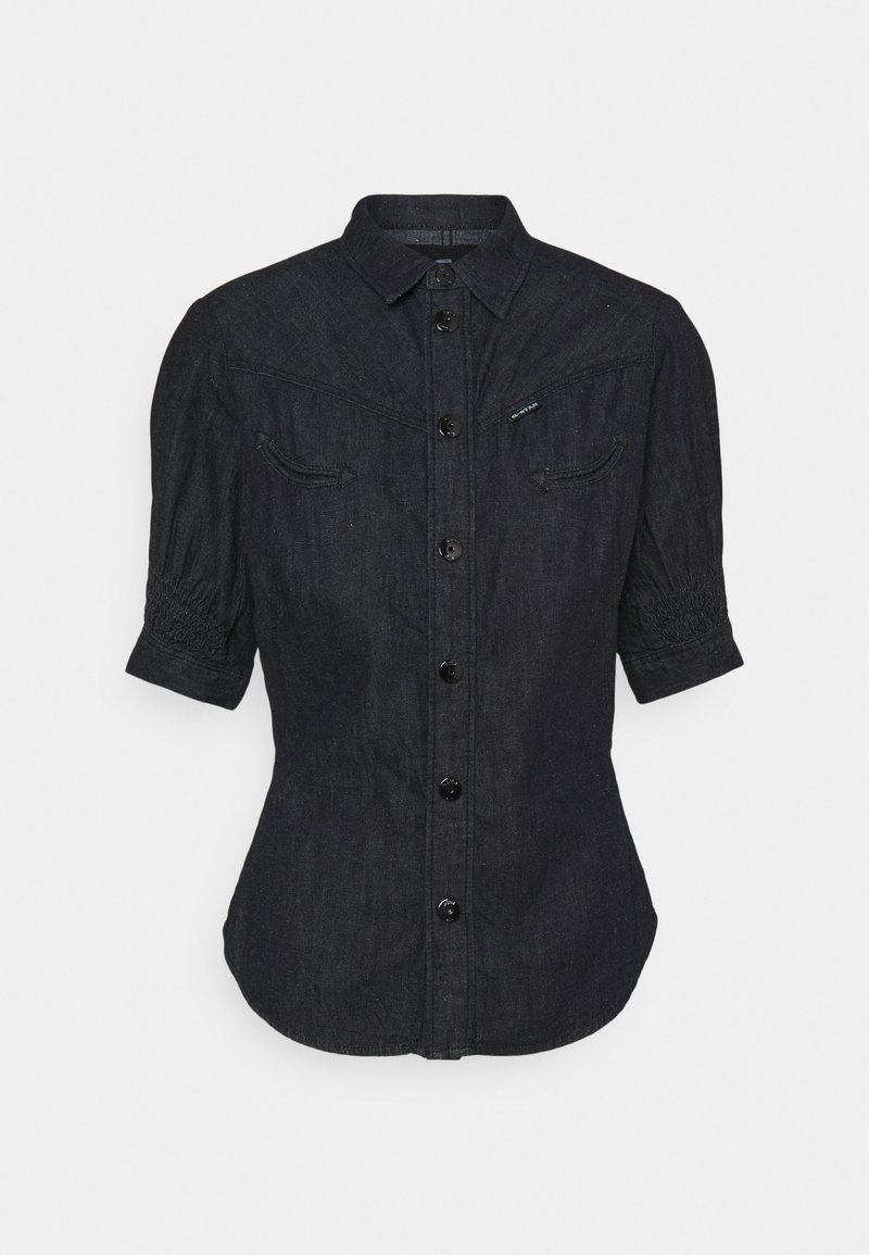 G-Star - SMOCK WESTERN KICK BACK SHIRT - Button-down blouse - rinsed