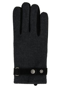 Bugatti - Gloves - grau/schwarz - 1