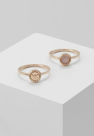 ESSENTIAL 2 PACK - Pierścionek - rose gold-coloured