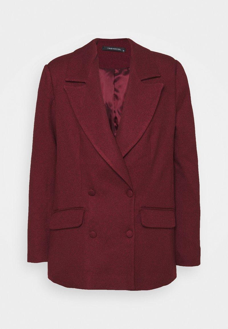 Trendyol - Blazer - burgundy