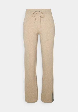 Kalhoty - oatmeal/grey
