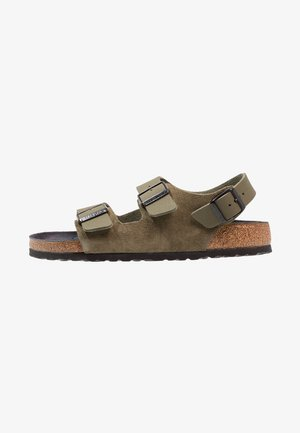 MILANO  - Sandals - asphalt khaki