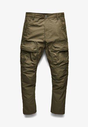BOYFRIEND TAPERED 3D POCKET - Pantalon cargo - green
