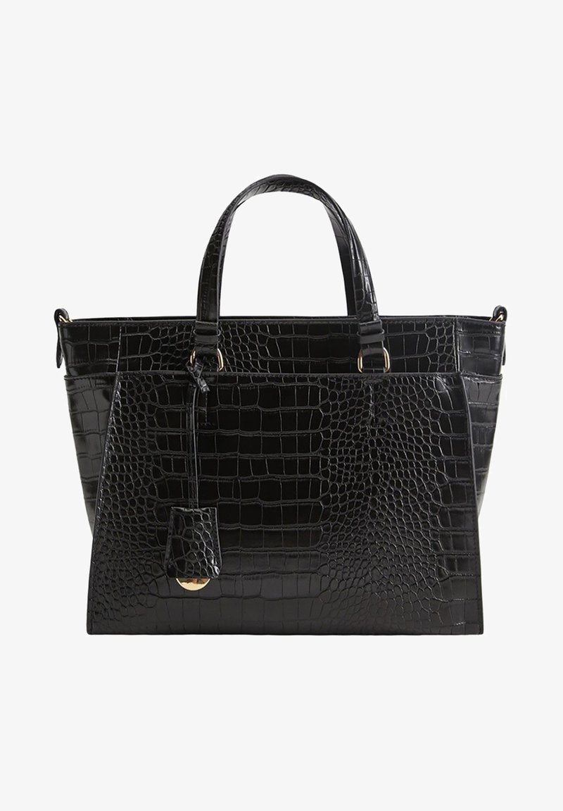 Mango - Handbag - schwarz