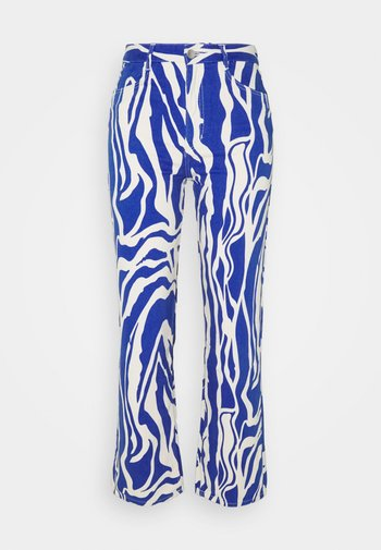 Jeans baggy - rave blue