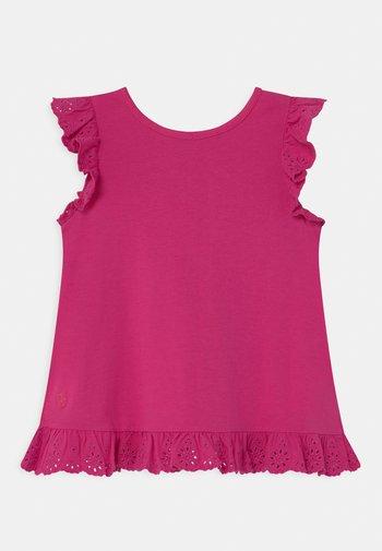 Print T-shirt - accent pink