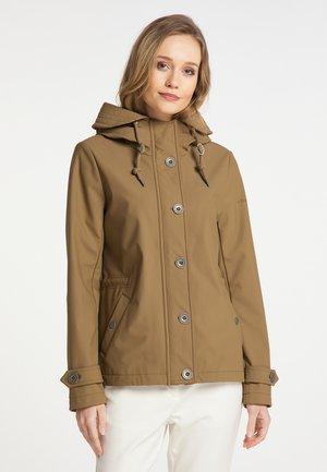 Outdoor jacket - dunkelsand