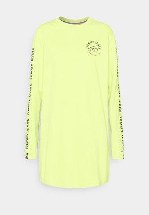 LOGO TAPE TEE DRESS - Day dress - faded lime/multi