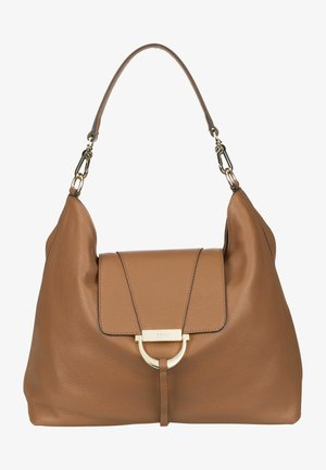TEMI - Handbag - cognac